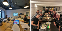 SHINE 2Europe meets SDD project partners in Gouda